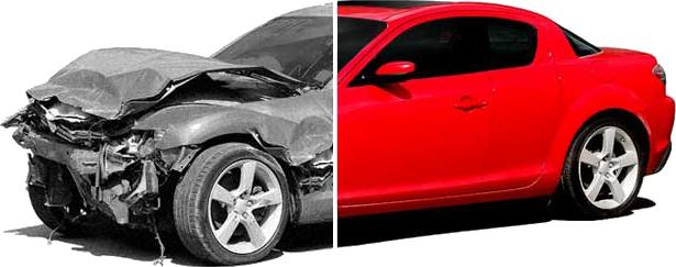 Покраска деталей автомобиля